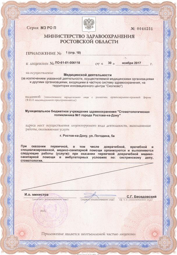Лицензия 2017 Приложение стр. 10