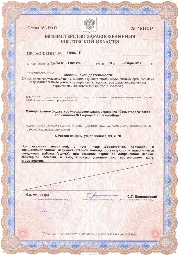 Лицензия 2017 Приложение стр. 13