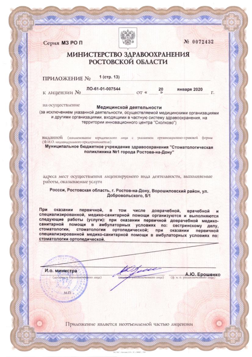 Лицензия 2020 Приложение стр. 13