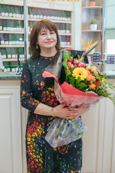 Главный врач Кудинова Надежда Алексеевна